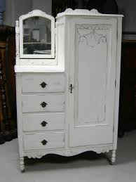 white wood wardrobe armoire shabby chic bedroom. Paint Furniture · Shabby Antique Dresser Armoire Bedroom In A Box Painted French White. White Wood Wardrobe Chic F