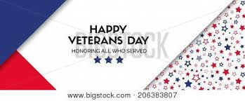 vector banner for veterans day in usa facebook cover size