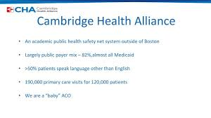 Complex Care At Cambridge Health Alliance Ppt Download