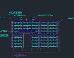 Concrete Block Lintel Design Cmu Wall Details Exterior Finish Planmarketplace