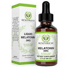 Benevolent Natural Melatonin Liquid 3mg Nighttime Sleeping Aid For Adults Extra Strength Raspberry And Vanilla Flavour Effective Sleep Aid
