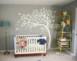 baby room wall decoration uni nursery tatto nursery wall tree sticker kw32