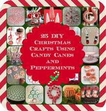 Christmas Decorations With Candy Canes 100 DIY Christmas Crafts using Candy Canes and Peppermints DIY 64