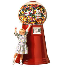 Vending Gumball Machine Amazing Jumbo Giant Gumball Machine 48' 48 Big Mama Gumball