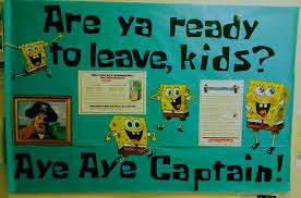 Ra Esas Spongebob Themed Closing Bulletin Board Bulletin Boards