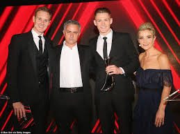 Girlfriend is the boyfriend's love interest and the daughter of daddy dearest and the mom. Man United Players And Wags Hit Red Carpet For End Of Season Awards Daily Mail Online