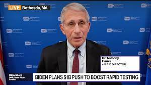 Fauci on Child Vaccinations, Boosters and Merck Covid Pill - Bloomberg