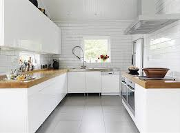 white kitchens and wood countertops j aaron white kitchen with wood countertops