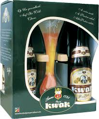 kwak beer gift pack 4 x 33cl bottle with gl