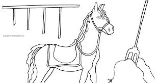 Immagini Di Cavallo Da Colorare Portalebambini
