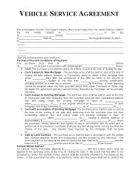 Cleaning Service Agreement Template Sample Contract 6 Examples In ...