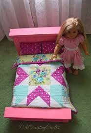 Learn how to make a cute and simple Doll Bed Quilt with Rob Appell ... & Farmhouse Doll Bed and Star Doll Quilt Pattern Adamdwight.com