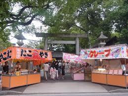 名古屋嫁入日記 川原神社の夏祭り
