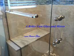 glass shower hardware barn door cost