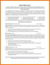 Template Illinois 3 Executive Chef Resumes 05052017 Resume Sample