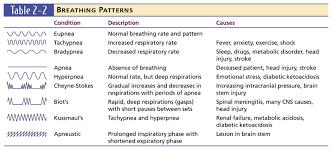 Abnormal Breathing Patterns Custom Types Of Breathing Patterns Holaklonecco