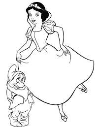 Small Picture All Disney Princess Coloring Pages To Print Coloring Site All