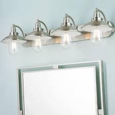 Beachy Bathroom Light Fixtures Schooner Bath Light 4 Light Beachy Bathroom Light