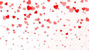 Flying Red Hearts Background Heart Background For Design Poster