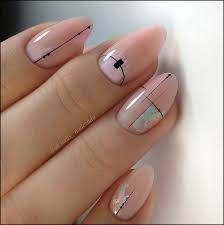 702 703 in 138 amazing natural summer square nails design for short nails