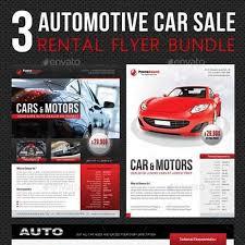 Graphicriver 3 In 1 Automotive Car Sale Rental Flyer