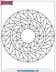 Small Picture Abstract Art Mandala Coloring Page H M Coloring Pages
