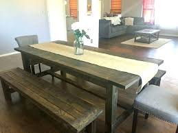 narrow farmhouse table narrow farmhouse table bench table charming dining room table plans long farm table