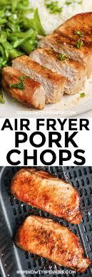 air fryer pork chops ready in under 1