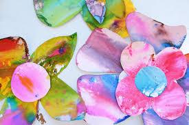 spring watercolor flower art for