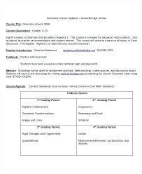Syllabus Sample Template Classroom Syllabus Template Course Ched Indemo Co
