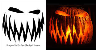 Free Scary Pumpkin Carving Ideas 2015