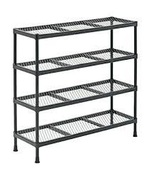 wire shelf unit gray combination wire shelving unit 4 shelves height x wire shelving units ikea