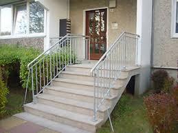 Alu treppe mit podest mehr erfahren ». Treppe Aussen Haus Eingang Podest Naturstein Granit Beton Stufe Setz Beige Ebay