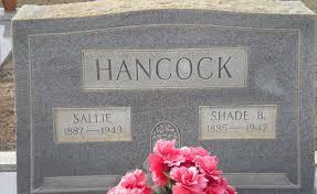 Sallie Holland Hancock (1887-1949) - Find A Grave Memorial