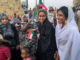نتيجة بحث الصور عن آلاء صلاح كنداكة الثورة السودانية