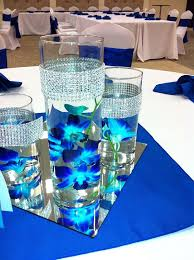 ... great royal blue and silver wedding decor 90 in wedding reception table  ideas with royal blue ...