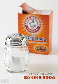 Bathroom Cleaning with Baking Soda
