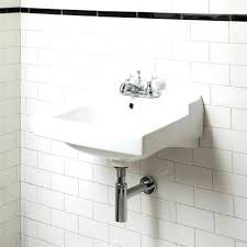 unique medium size of small wall mount farmhouse utility cast double sink wall mounted