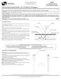Vista Pro Path Lights 4203 For T3 Led T3 Halogen Landscape Series Path Amp