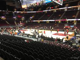 Cavs Virtual Seating Chart Rocket Mortgage Fieldhouse Section 106 Cleveland Cavaliers