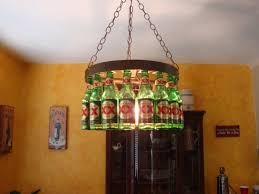 beer bottle chandelier by bigswigdesign on 145 00