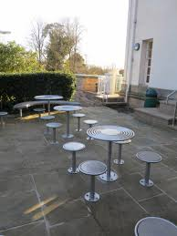 circular furniture. Stainless Steel Stools And Tables From Our Centerline Street Furniture Range Circular N