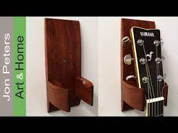 install a guitar hanger holder