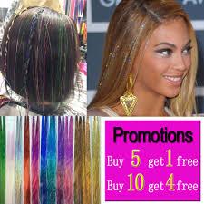 Us 199 Sparkle Tinsel ผม Bling ผม Secoration สำหรบสงเคราะห Glitter Rainbow สำหรบสาวและปารต 100 ซม 150 เสน Pcs ใน อปกรณถกเปย จาก