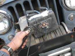 jeep winch installation warn 8274 electrical tech 4wheel off jeep winch warn 8274 winch photo 9186757