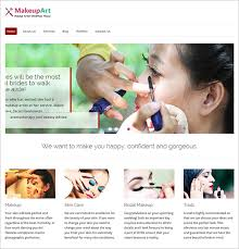 excellent makeup artists wordpress theme 59