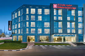 hilton plans to expand its hampton and hilton garden inn brands in the middle east africa region pictured is the hilton garden inn dubai al mina