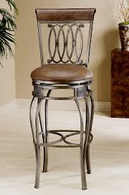 wrought iron swivel bar stools. Exellent Swivel Hillsdale  Faux Leather Upholstered Wrought Iron Swivel Counter Stool  Montello And Bar Stools I