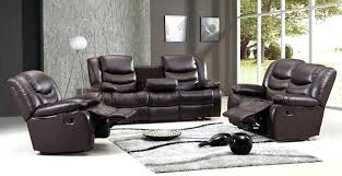 Recliner With Cup Holder And Storage Electric Or Manual Couch Set  Built In N88