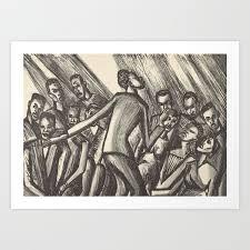 Spirituals by Lillian Richter Art Print by fineearthprints | Society6